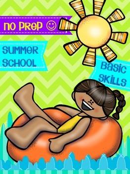 SUMMER SCHOOL {NO PREP} MATH BASIC SKILLS & KINDERGARTEN - 2