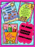 SUMMER SCHOOL {NO PREP} MATH, READING & WRITING BUNDLE!