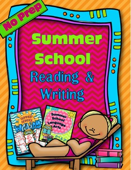 SUMMER SCHOOL READING AND WRITING BUNDLE 2ND & 3RD GRADE (NO PREP)