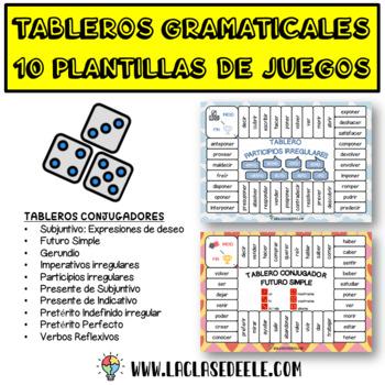 10 Juegos de mesa gramaticales: conjugación y tiempos verbales en español