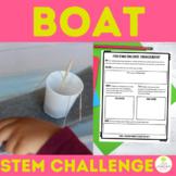 Digital Boat STEM Challenge | Distance Learning | Google Slides