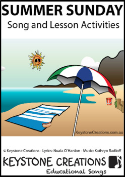 Children SING & LEARN about sun & surf safety, and beach features & creatures