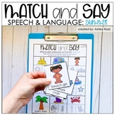 SUMMER Speech Therapy | Printable and Digital with Google