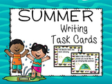 Summer Vacation Writing Task Cards