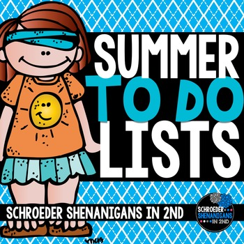 SUMMER TO DO LISTS !
