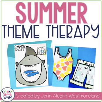 SUMMER Theme Therapy for Speech and Language