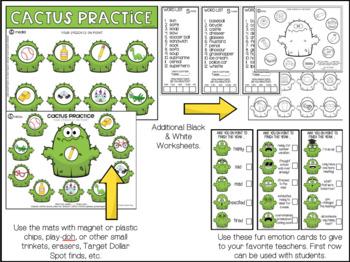 SUMMER WORKSHEETS! EOY speech worksheets EASY PREP & NO PREP