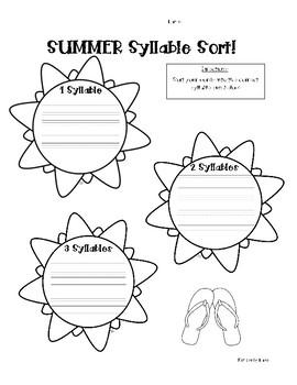 SUMMER Word Work Activity Pack! 5 Word Work Activities
