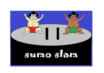 SUMO SLAM INTERACTIVE JAPANESE HIRAGANA GAME