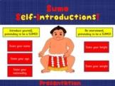 SUMO Self-Introduction Presentation