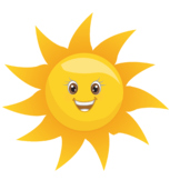 SUN EMOTICON CLIPART {Best Teacher Tools}