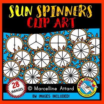 SUN SPINNERS CLIP ART: SUMMER CLIPART FOR SUMMER ACTIVITIES