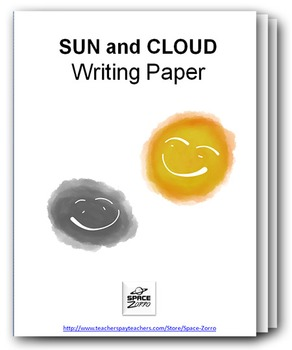 SUN and CLOUD writing paper