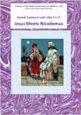 SUNDAY SCHOOL: LENT 2- NICODEMUS MEETS JESUS