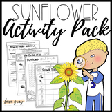 Sunflower Activity Bundle • Life Cycle + Literacy Worksheets