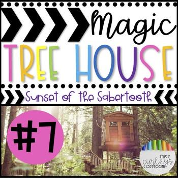 SUNSET OF THE SABERTOOTH: Magic Tree House #7 Book Companion