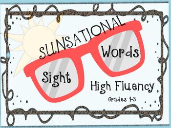 SUNsational Sight Words
