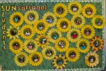 SUNsational Students Bulletin Board Activity
