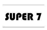 SUPER 7 VERBS - POSTERS