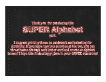 SUPER Alphabet