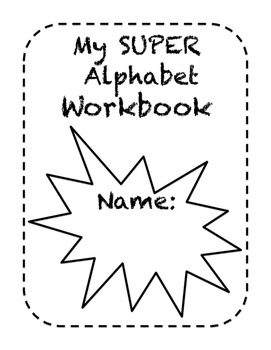 SUPER Alphabet Workbook with Bonus Game Cards
