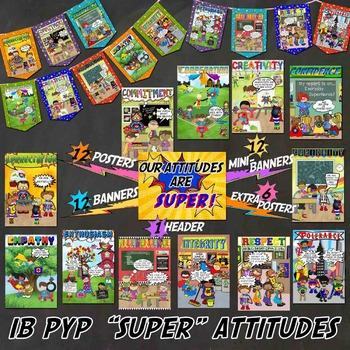 SUPER Attitudes for IB PYP A4 paper