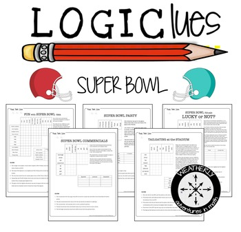 LOGIC PUZZLES super bowl for middle and high