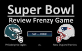 SUPER BOWL Review Frenzy Interactive Game