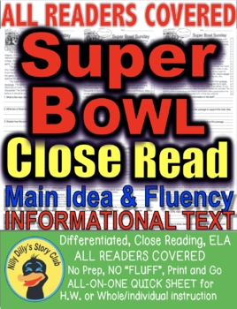 SUPER BOWL SUNDAY FACTS Differentiated 5 levels Informatio