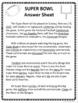 SUPER BOWL WRITING FRAME FREEBIE UPDATED!