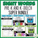 Pre-K and Kindergarten Activity Worksheets, PowerPoint, Fl