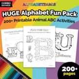 SUPER BUNDLE – All 175+ Alphabet Coloring & Activity Works
