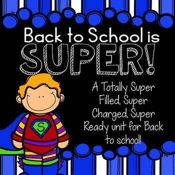 SUPER Back to School Unit!