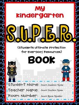 SUPER Binder Editable