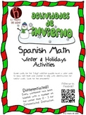 SUPER Bundle - Winter & Christmas Activities in Spanish - Language & Math