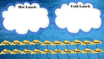 SUPER CUTE Attendance & Lunch Count Promethean/ClassFlow Classroom Management