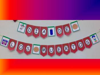 SUPER CUTE! Día de los Muertos (Day of the Dead) Banner