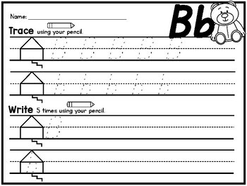 {SUPER CUTE} handwriting practice pages in Orton-Gillingham style - D'Nealian!!