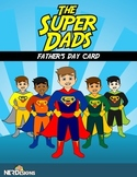 SUPER DAD- Father's Day Card writing activity