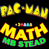 4th & 5th Grade Interactive Math Word PROBLEMS using PAC-MAN