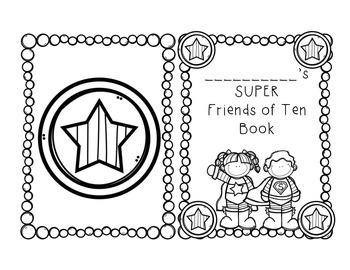 SUPER Friends of Ten Mini Book