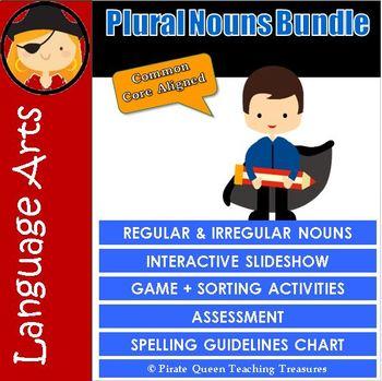 PLURAL NOUNS BUNDLE/CCSS Aligned