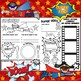 SUPER HERO All About Me Mat! Great for Open House,Back to School,or Fun!