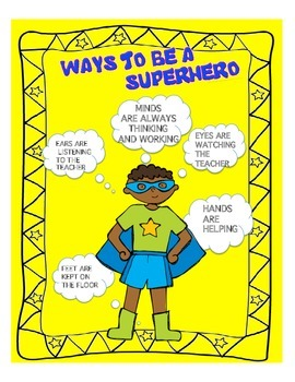SUPER HERO BEHAVIOR
