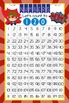 SUPER HERO - Classroom Decor: Counting to 120 Poster - size 24 x 36