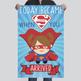 SUPER HERO - Classroom Decor : MEDIUM BANNER - Today Became Super