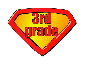 SUPER HERO SHIELD  WELCOME BACK SIGN, GRADE LEVEL AND NAME TAGS