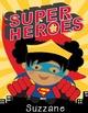 SUPER HERO Theme - BINDER covers Superman, Batman, Green Lantern