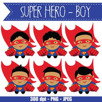 SUPER HERO boy - BUNDLE - CUTOUTS, bulletin board, classroom decor, craft