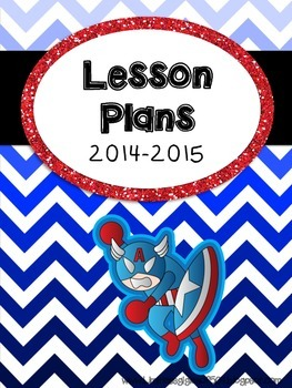 SUPER HERO themed Binder Covers